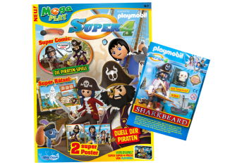 Playmobil - 80813-ger - Super 4-Magazin 03/2018 (Heft 14)