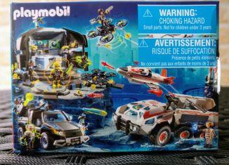 Playmobil - 86144 - Mini-Puzzle Top Agents