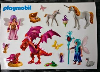 Playmobil - 88545 - Window Decal Fairies