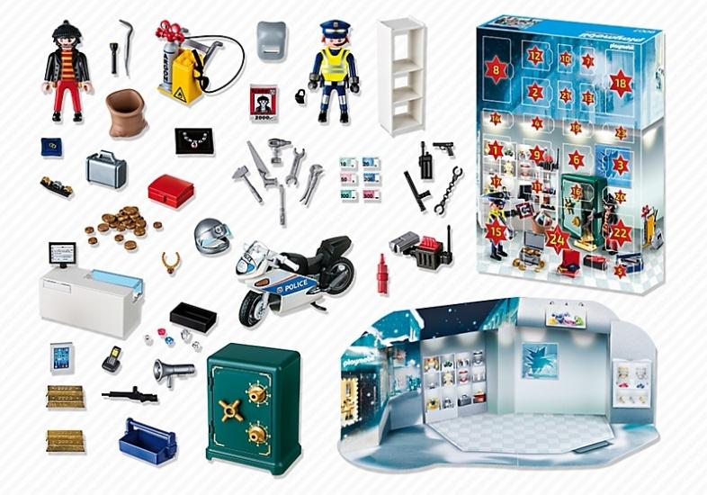 Playmobil 9007 - Jewelery heist - Back