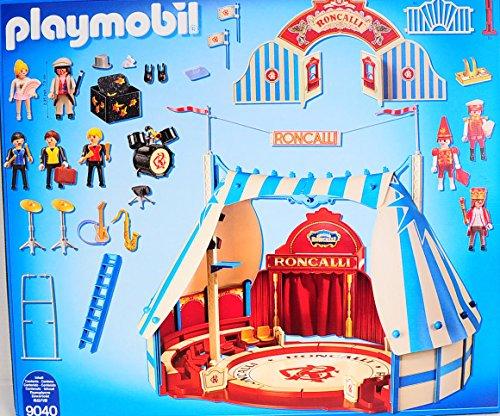 Playmobil 9040 - Roncalli Circus Arena - Back