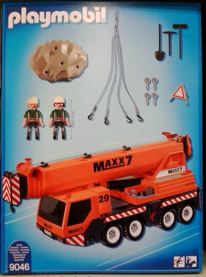 Playmobil 9046-ger-esp - Mobile heavy-lift crane - Précédent