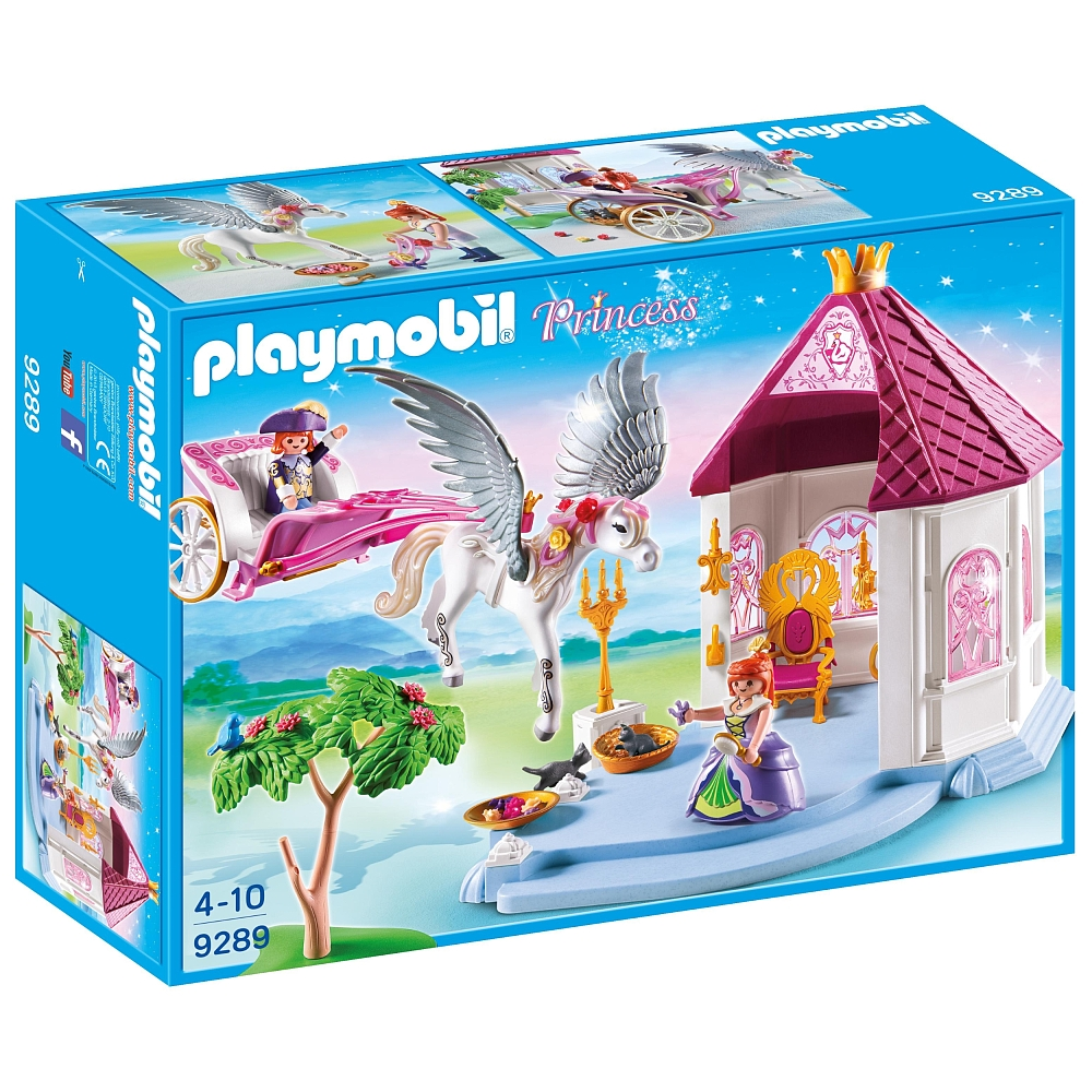 Playmobil 9289-ger - Princess Pavillion and Carriage - Box