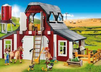Playmobil - 9315 - Barn with Silo