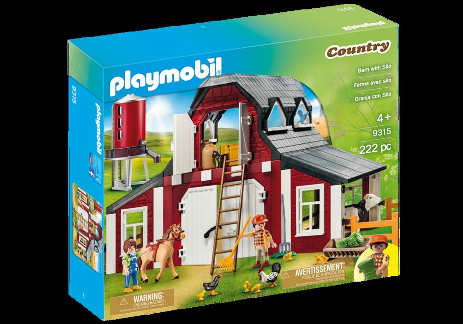 Playmobil 9315 - Barn with Silo - Box