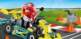 Playmobil - 9322-usa - Go-Kart Racer Carry Case