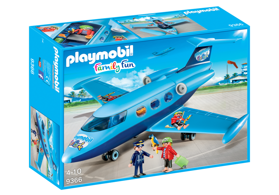 Playmobil 9366 - FunPark Plane - Box