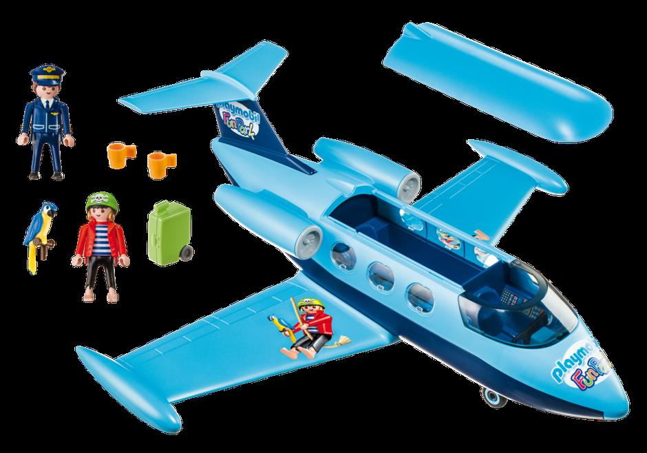 Playmobil 9366 - FunPark Plane - Back