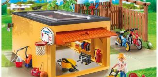 Playmobil - 9368 - Garage with Bicycle Parking