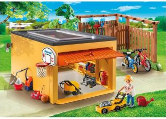 Playmobil - 9368 - Garage with Bicycle Parking