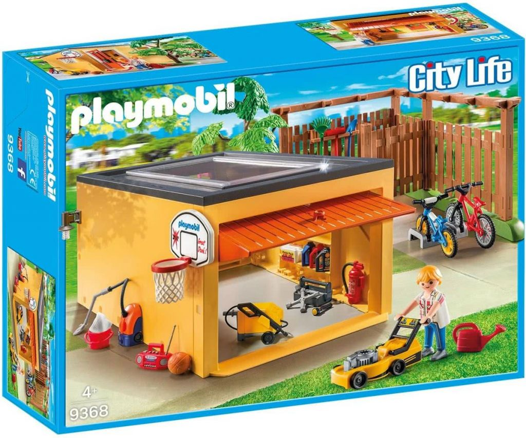 Playmobil 9368 - Garage with Bicycle Parking - Box