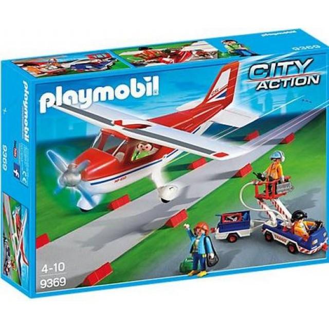 Playmobil 9369 - Red Plane - Box
