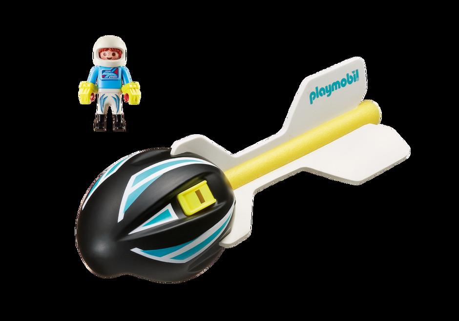Playmobil 9374 - Wind Flyer - Back