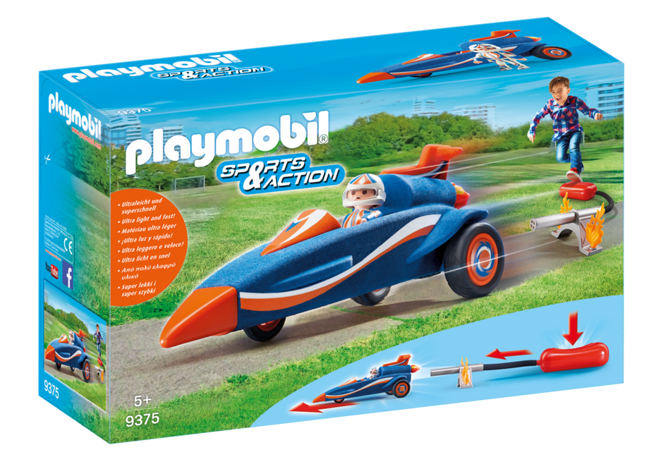 Playmobil 9375 - Stomp Racer - Box