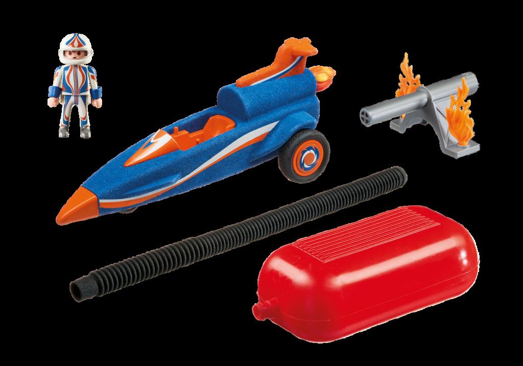 Playmobil 9375 - Stomp Racer - Back