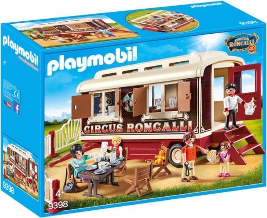 Playmobil 9398 - Circus Roncalli Caravan - Box