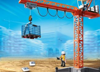 Playmobil - 9399 - Construction Crane