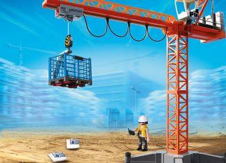 Playmobil - 9399 - Construction Crane