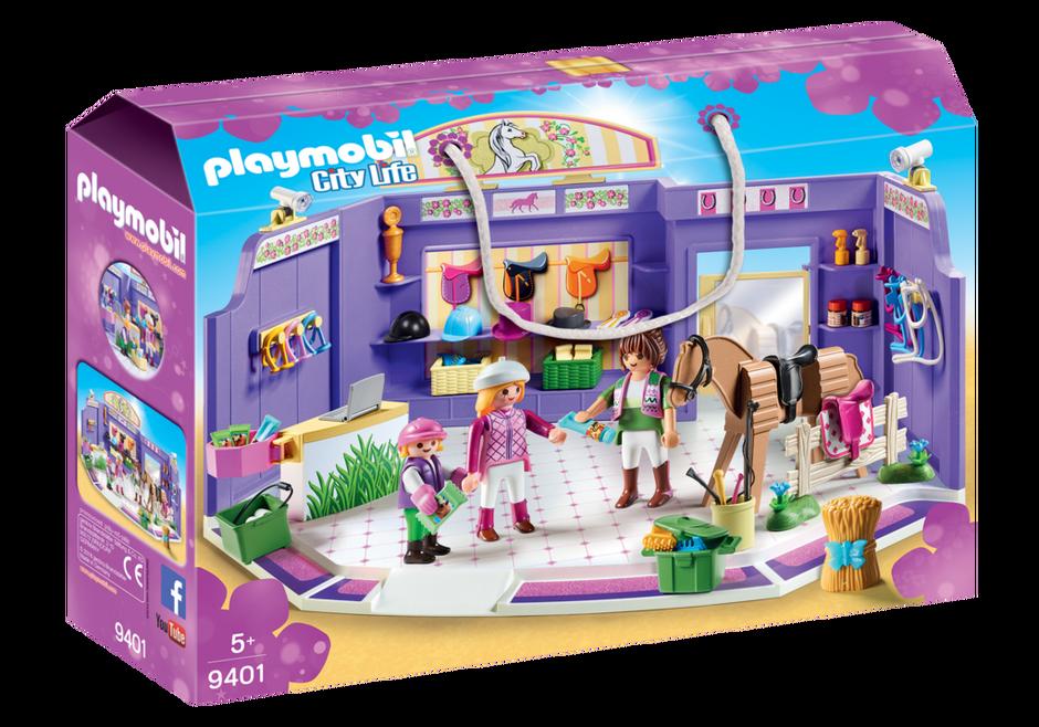 Playmobil 9401 - Horse Shop - Box