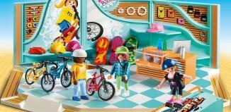 Playmobil - 9402 - Bike and Skate Shop