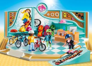 Playmobil - 9402 - Bike and Skate Shop