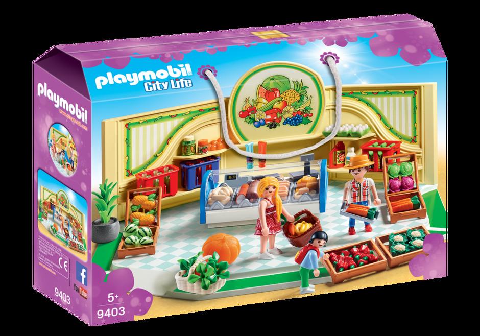 Playmobil 9403 - Grocery Shop - Box