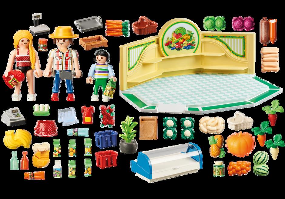 Playmobil 9403 - Grocery Shop - Back