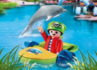 """Playmobil - 9412-ger - Charity Figure for """"Ein Herz für Kinder"""""""