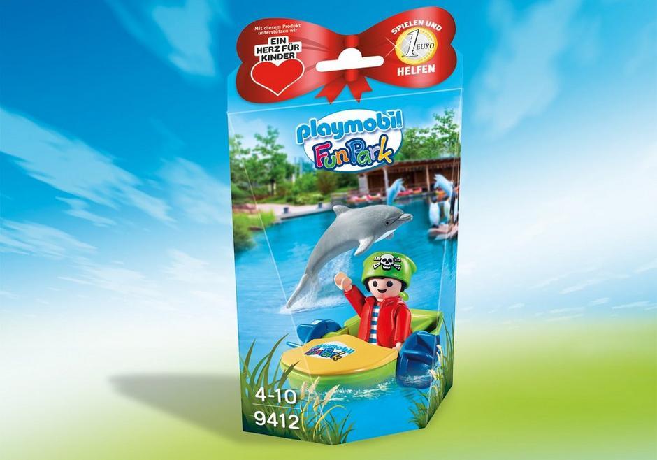 """Playmobil 9412-ger - Charity Figure for """"Ein Herz für Kinder"""" - Box"""