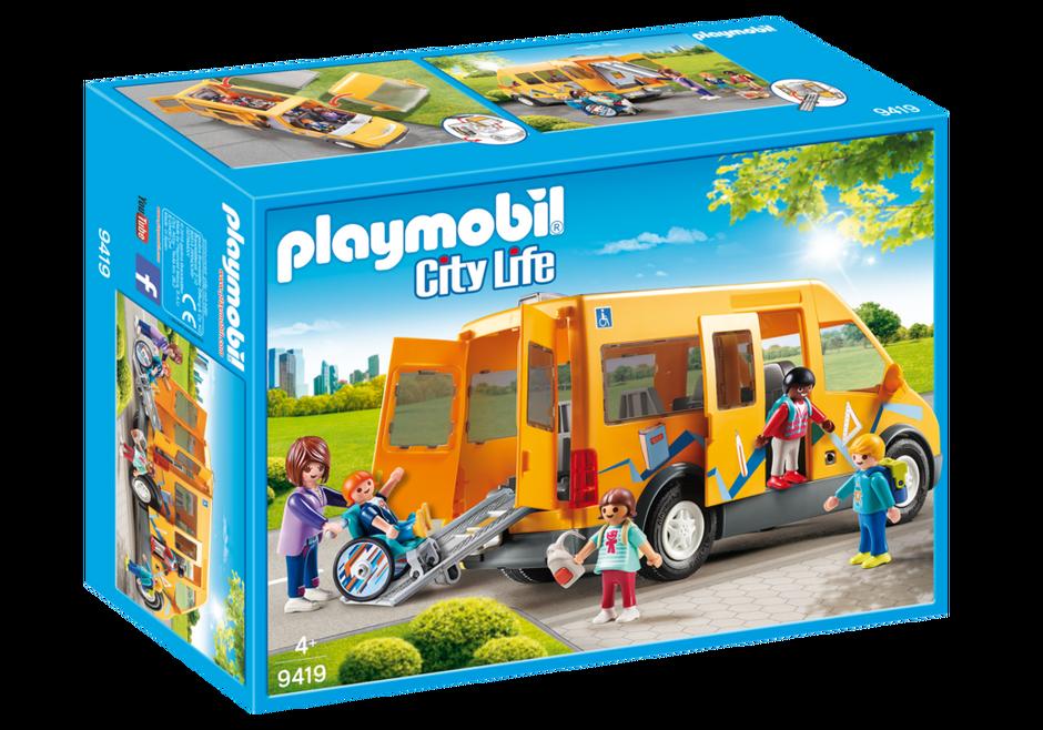 Playmobil 9419 - School Bus - Box
