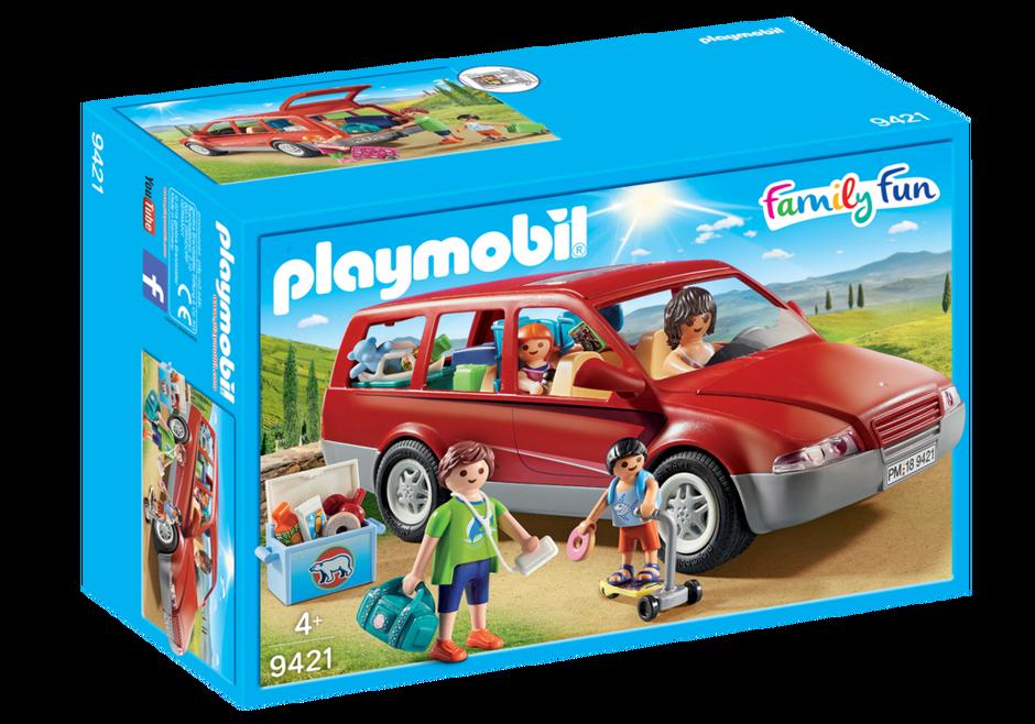 Playmobil 9421 - Voiture familiale - Boîte