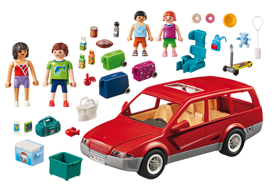 Playmobil 9421 - Family Van - Back