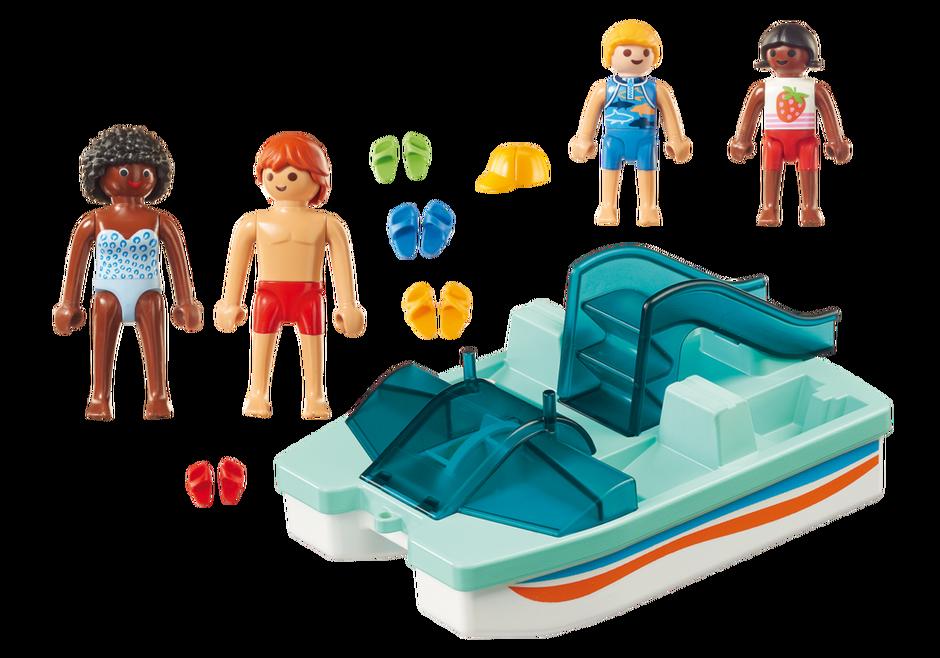 Playmobil 9424 - Pedal Boat - Back