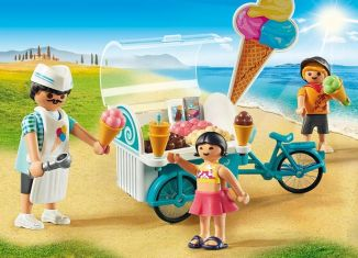 Playmobil - 9426 - Bicycle with Ice Cream Truck