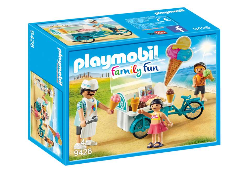 Playmobil 9426 - Bicycle with Ice Cream Truck - Box