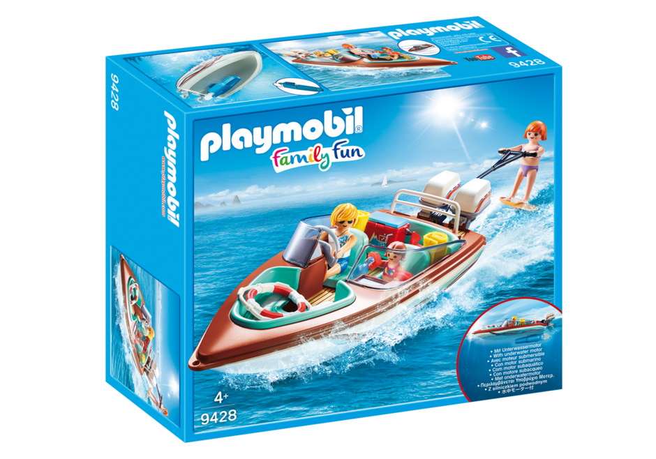 Playmobil 9428 - Speedboat with Underwater Motor - Box