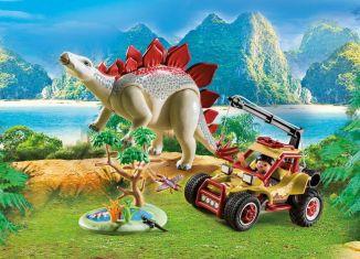 Playmobil - 9432 - Explorer Vehicle with Stegosaurus