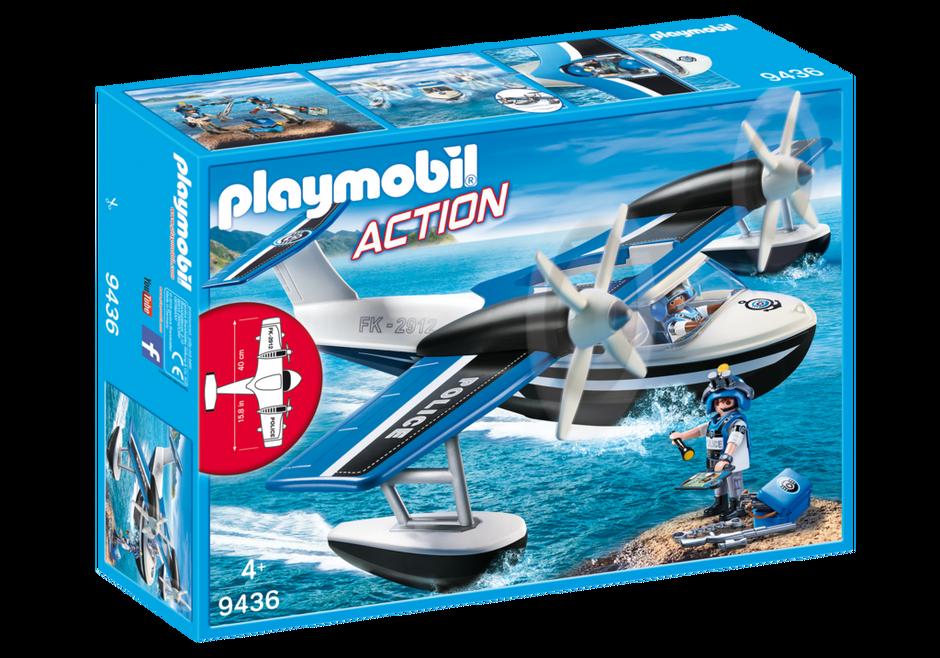 Playmobil 9436 - Police seaplane - Box
