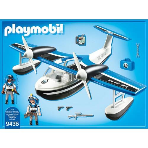 Playmobil 9436 - Police seaplane - Back
