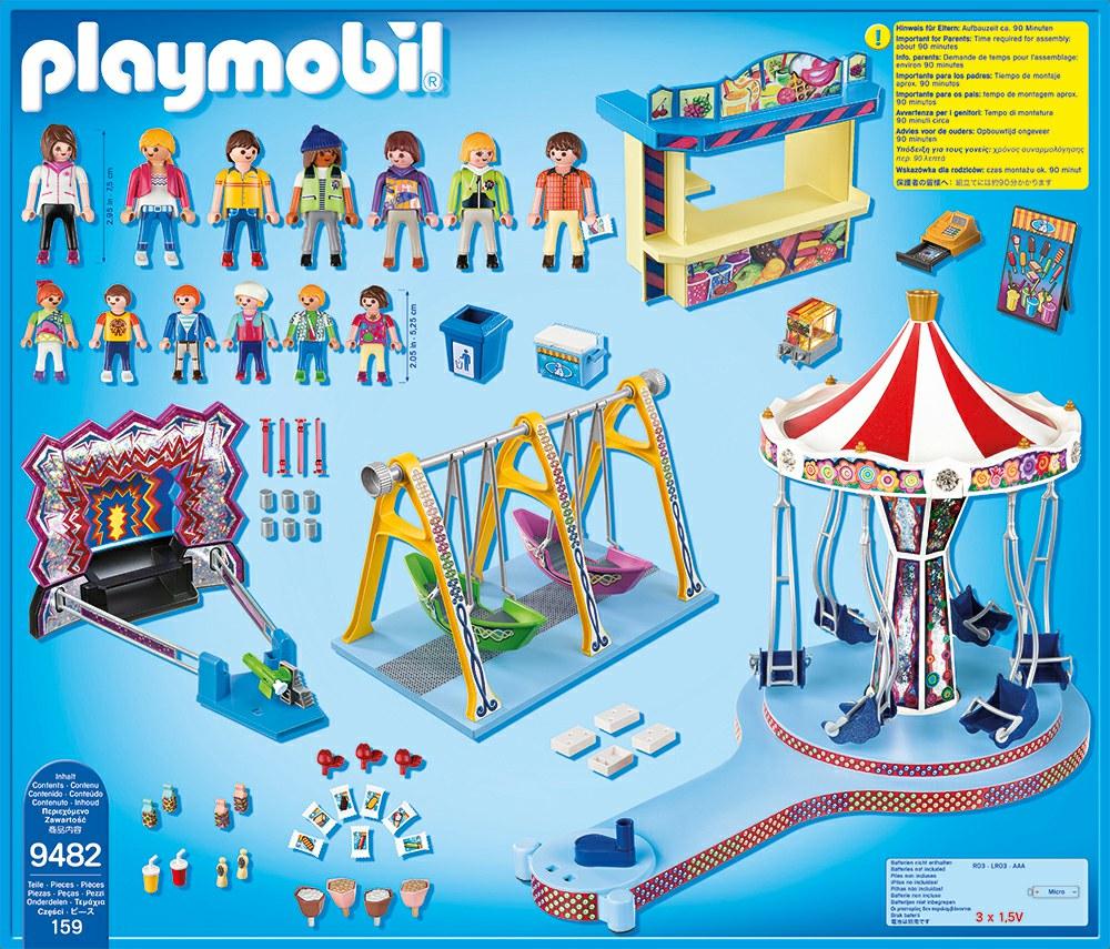Playmobil 9482 - Großer Kirmesspaß - Back