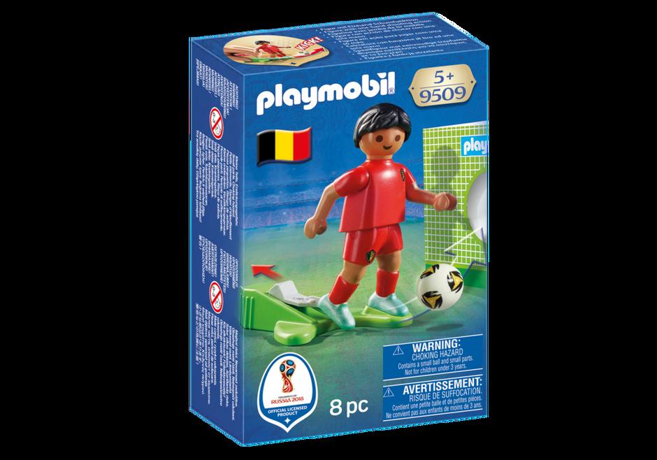 Playmobil 9509 - Soccer Player Belgium - Box