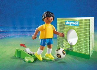 Playmobil - 9510 - Soccer Player Brasil