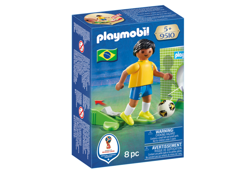 Playmobil 9510 - Soccer Player Brasil - Box