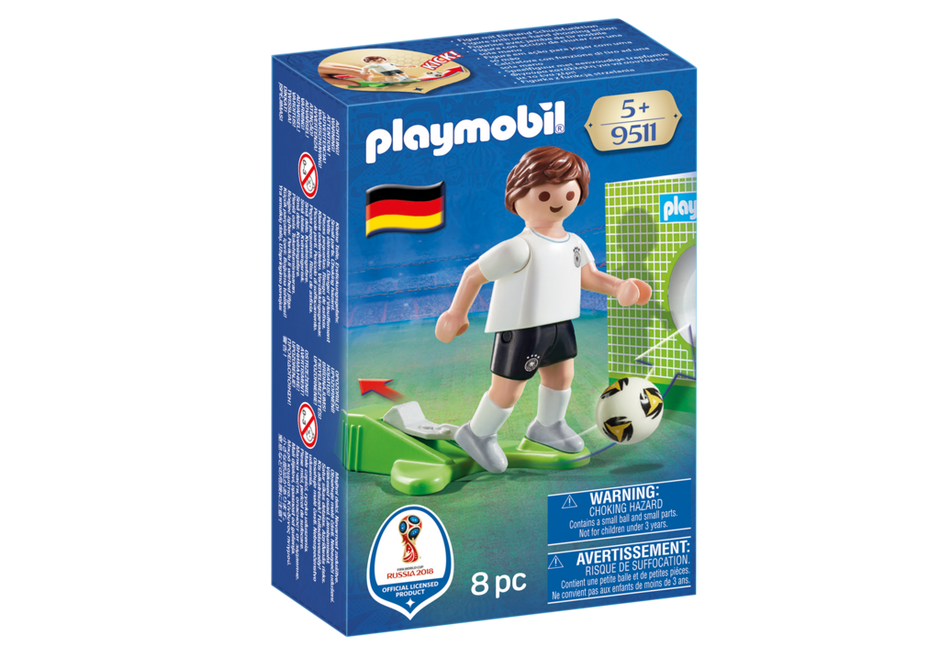 Playmobil 9511 - Soccer Player Germany - Box