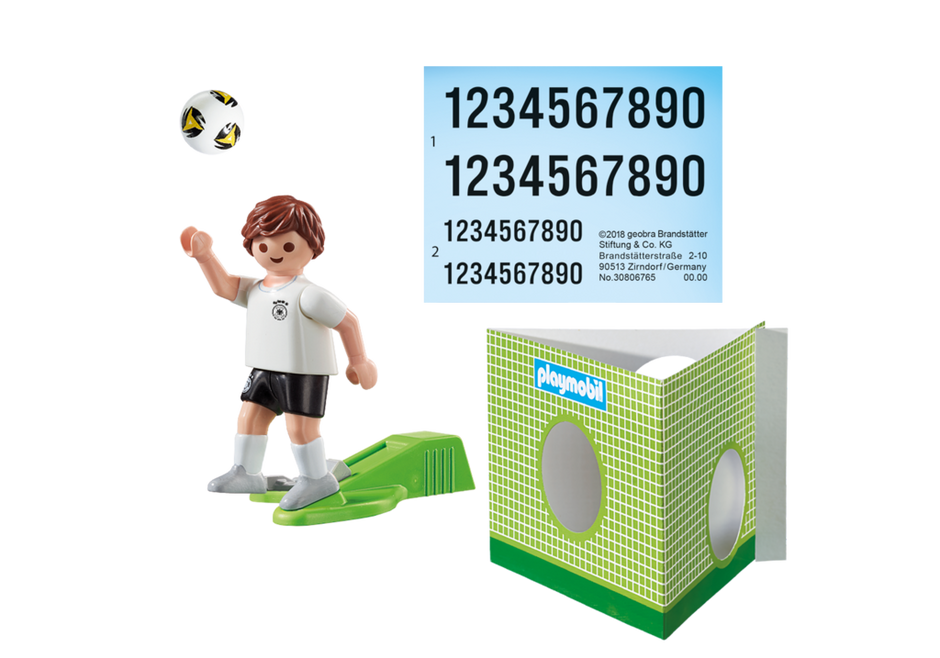 Playmobil 9511 - Soccer Player Germany - Back
