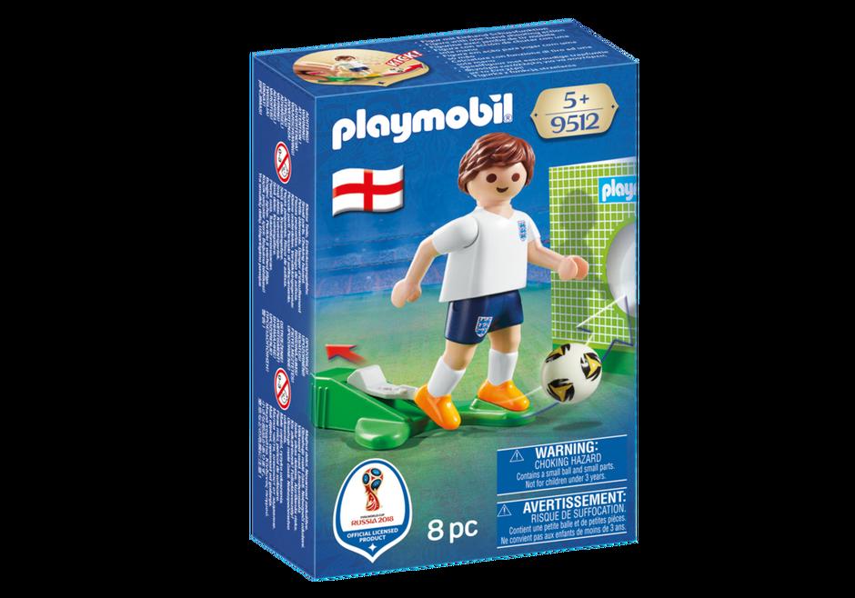Playmobil 9512 - Soccer Player England - Box