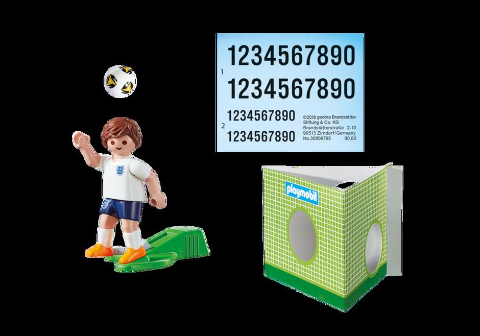 Playmobil 9512 - Soccer Player England - Back