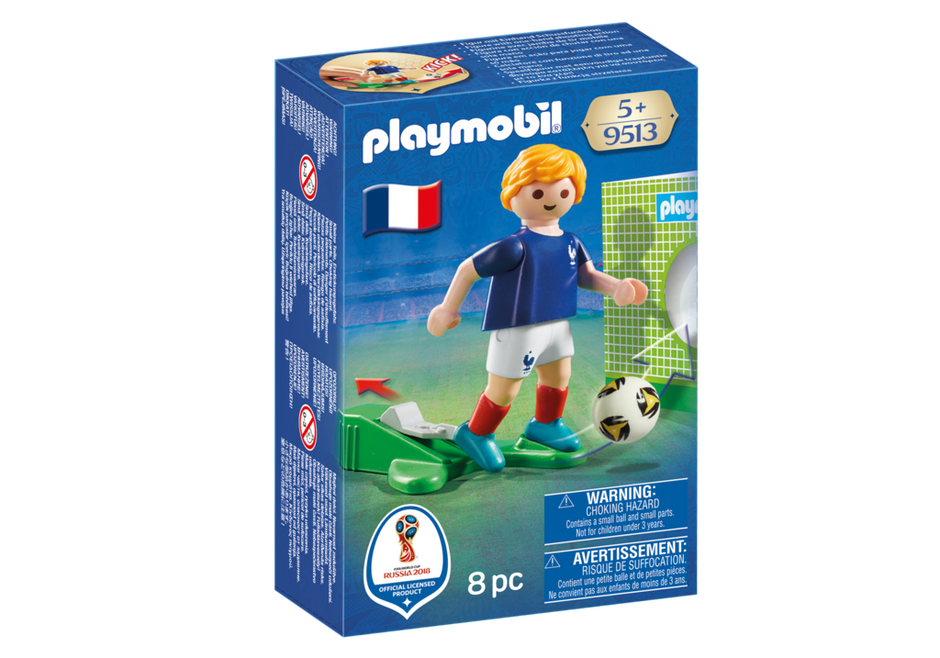Playmobil 9513 - Soccer Player France - Box