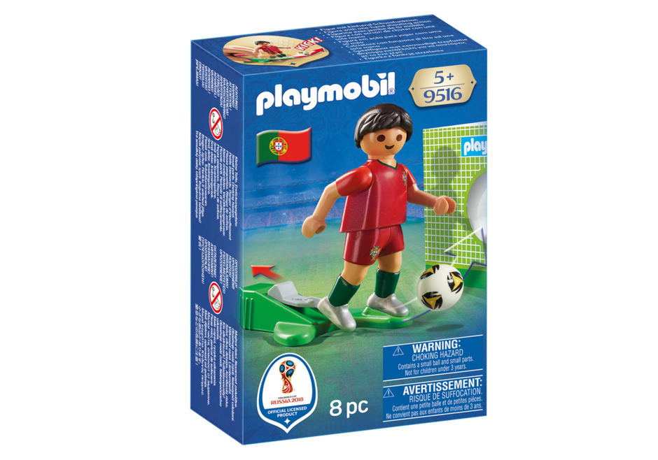 Playmobil 9516 - Soccer Player Portugal - Box