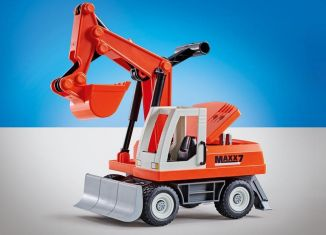 Playmobil - 9800 - Excavator